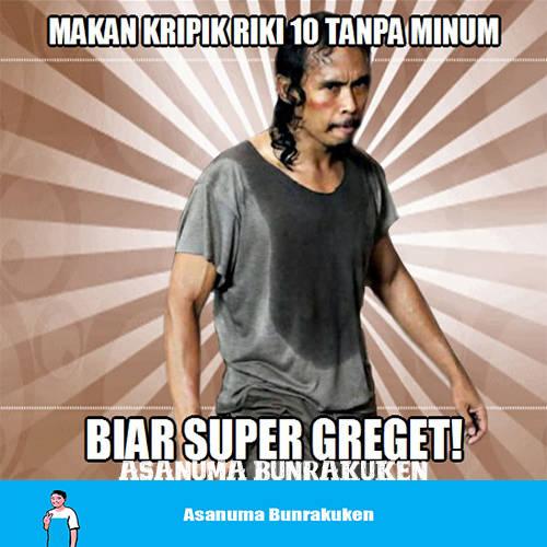 Orang Bandung Pasti Tau Kripik Pedas Riki Pedasnya Edan :v (nama facebook gue asanuma bunrakuken)
