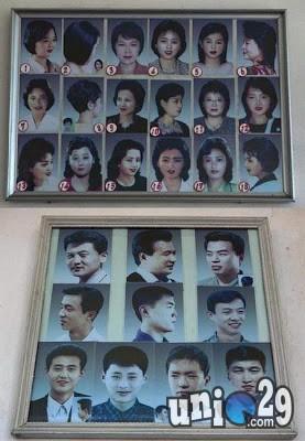 Pemerintah Korea Utara menerbitkan aturan soal gaya rambut yang boleh dimiliki oleh warganya. Gaya rambut yang diizinkan dipakai wanita dan pria sebagian besar berasal dari era tahun 80-an. Dikutip Takasih.com, Hong Kong melaporkan soal aturan