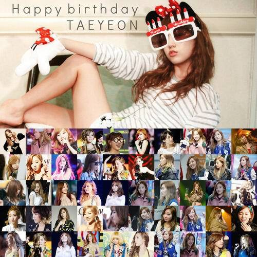 Happy Birthday Kim TaeYeon ?