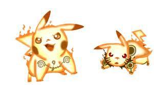 Kalo Pikachu Kyuubi Mode