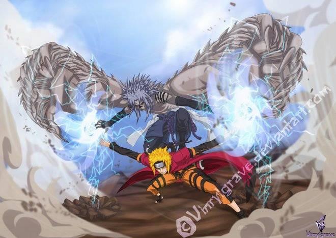 chidori dan rasengan bergabung naruto dan sasuke berteman lagi....