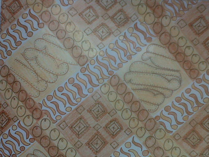 Its my own painting! I really love batik :* Cintai budaya Indonesia yah! WOW