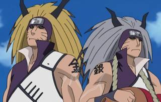 mereka dijuluki dengan nama the silver and gold brothers ( saudara kembar emas dan perak) mereka pmendapatkan cakra pseudo jinchuuriki setelah ditelan oleh kyuubi .. siapakah mereka berdua,? klo klian suka gambar ini kilk WOW-
