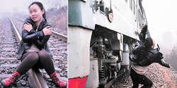 Terlalu Asyik Foto di Rel, Gadis Ini Tertabrak Kereta