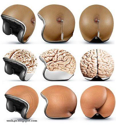 Desain Helm yang Lucu dan Kocak...