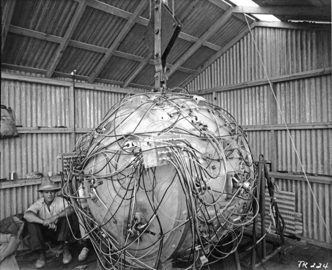 Wow! Inilah penampakan bom atom yg pertama kali diciptakan!