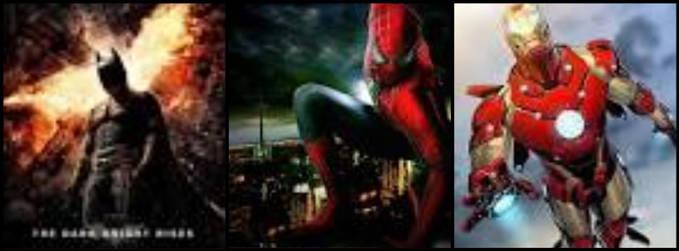 kaliah suka batman spiderman iron man coment ya klik wow