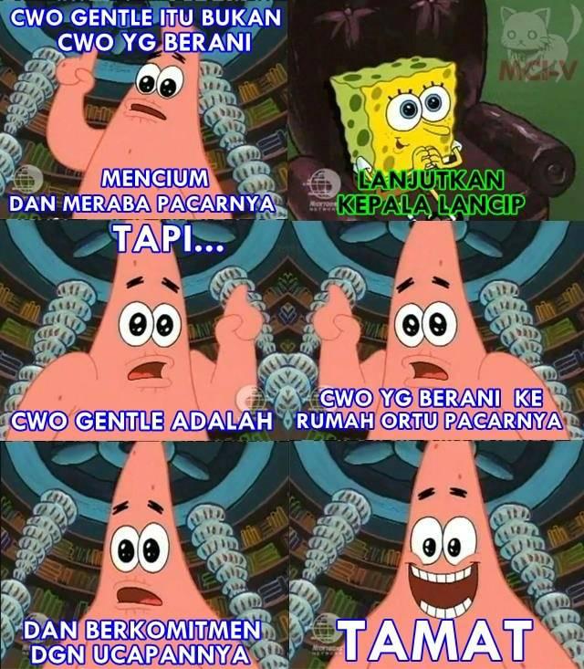 Dongeng Patrick utk Spongebob :v