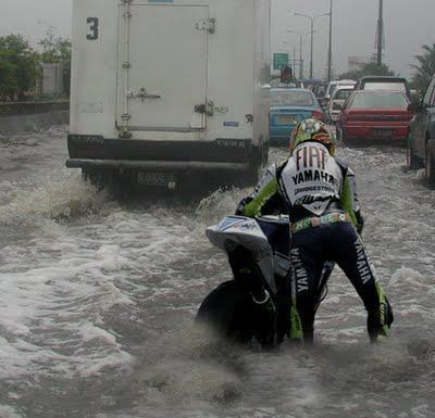 Pengalaman pertama Valentino Rossi ke Jakarta