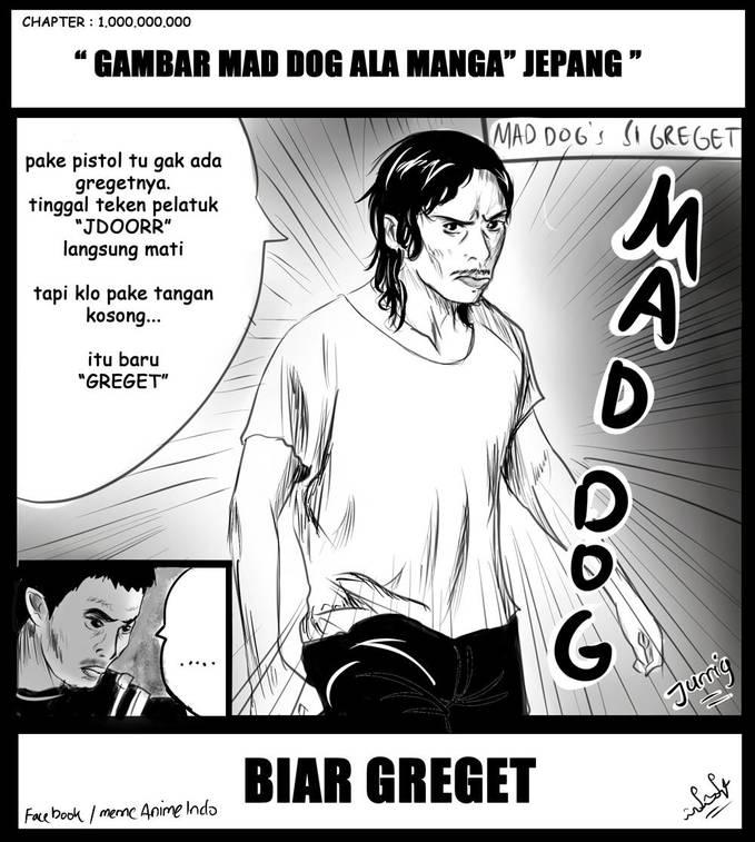 gambar mad dog ala manga jepang, BIAR GREGET ...