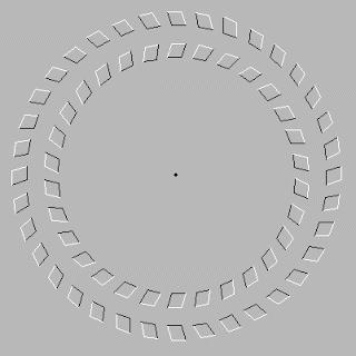 1.Pusatkan mata anda ke titik merah selama beberapa detik. 2.Tarik kepala anda menjauhi gambar atau komputer anda 3.Lihat hasil