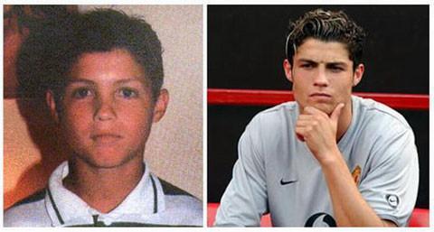 Cristiano Ronaldo / CR7 waktu masih Kecil Sekitar 12 tahun, Dari kecil hingga dewasa tetep aja ganteng :)
