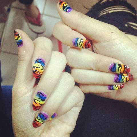 nail art felly chibi!!
