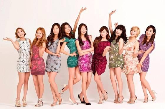 WOW!! Girls Generation pake baju Batik Indonesia :D BANGGA DONG JADI SONE INDONESIA !~