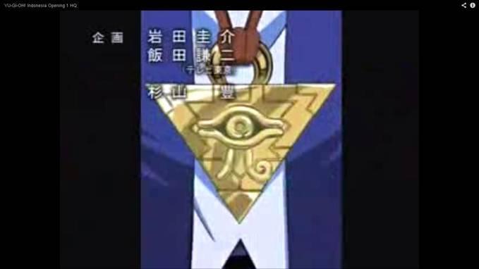 lambang ilumination di game YU-GI-OH..!!!ini game buatan zionis yaudi abad ke-20.. 1 WOW = benci YAHUDI