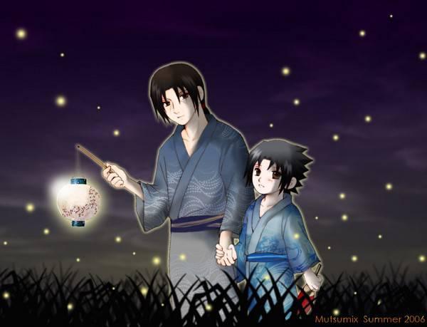 2 brother itachi and sasuke