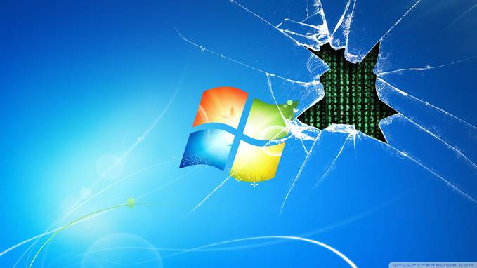 dar, desktop gue pecah. >