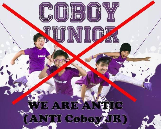siapa yang anti coboy junior