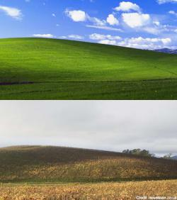 Awal Mula Lokasi dari Wallpaper Asli Windows XP