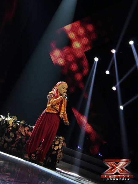 Tau Fatin?? Yap! Penyanyi Berjilbab Di X FACTOR INDONESIA! Tidak Disangka Memperoleh Polling SMS Tertinggi Ke 2 Setelah NU DIMENSION Berada Di Posisi Pertama! Bagi Yang Suka FATIN ! WOWnya Mana?? :)