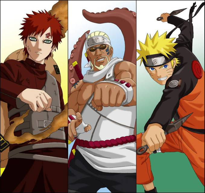 this is the three kage................... wownya donk