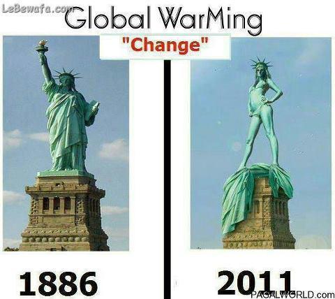Global WarMing ..#Liberty hahah