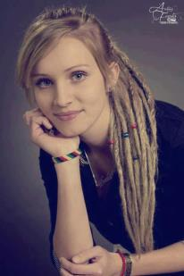 Beauty lady rasta...