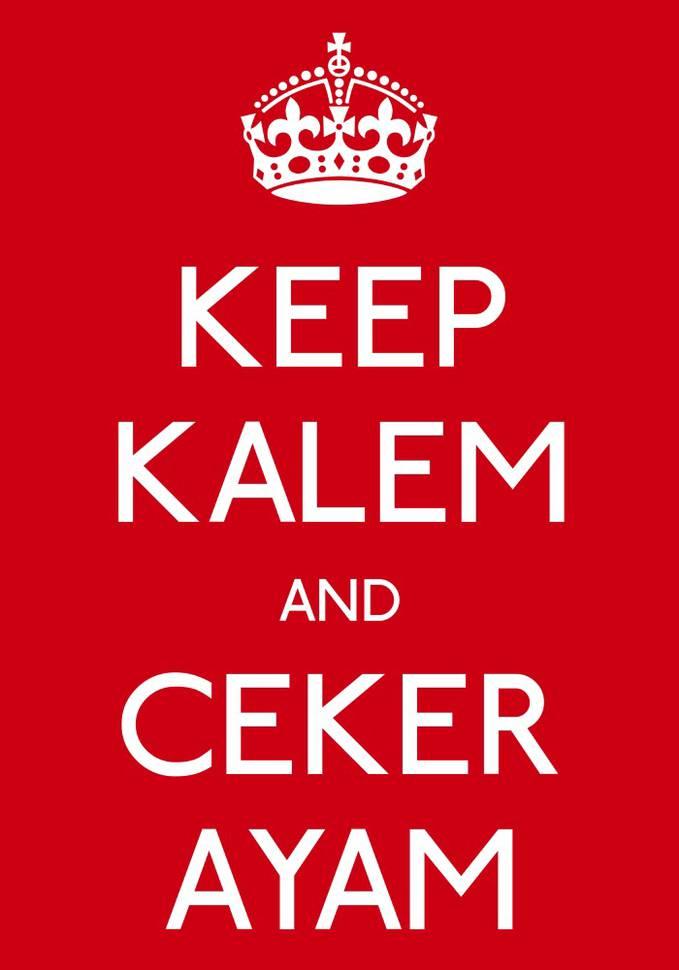 Keep KALEM and Ceker Ayam