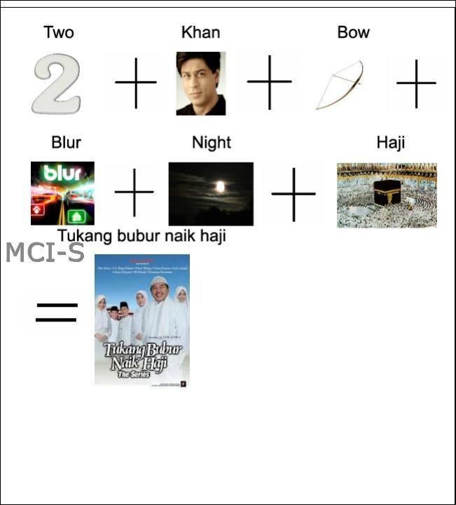 asal mula dari sinetron TUKANG BUBUR NAIK HAJI .. =D