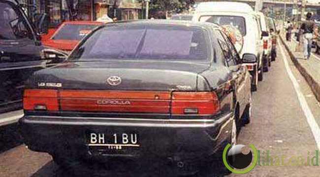 plat mobil yang ngeres part 3 BH IBU