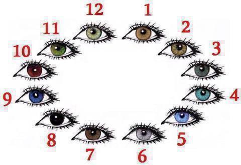 Numor berapakah warna mata kamu ? Jangan lupa klik WOW yah :)