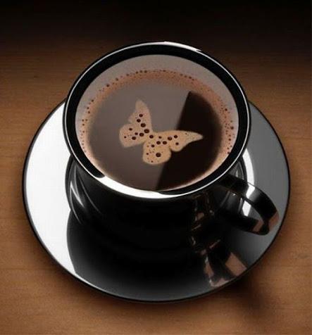 Coffee Kupu-kupu yang manis.