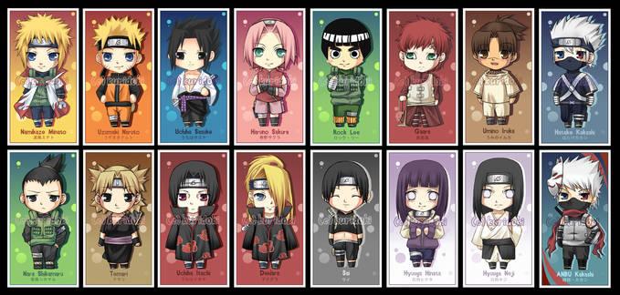 Pilih Jagoanmu ? Kalo Aku Sih Uchiha Sasuke :D WoWnya Ya ?