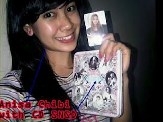 GAWAT! GAWAT! Annisa chibi telah menyolong album-the boys milik SNSD untuk diplagiatin! Parah banget ya, SONE!