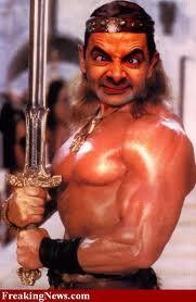 Mr.Bean Berotot ... Wkwkwkwk