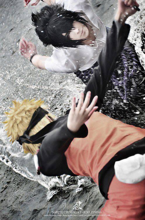 Naruto and Sasuke Cosplay !