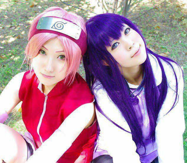 sakura hinata cosplay
