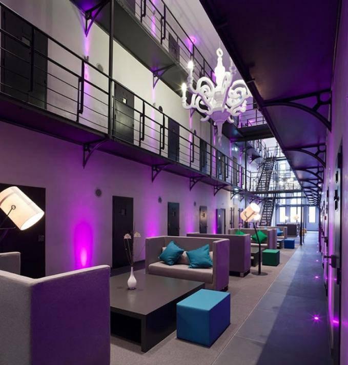 Penjara yg berada di Belanda tiba2 di sulap menjadi hotel mewah
