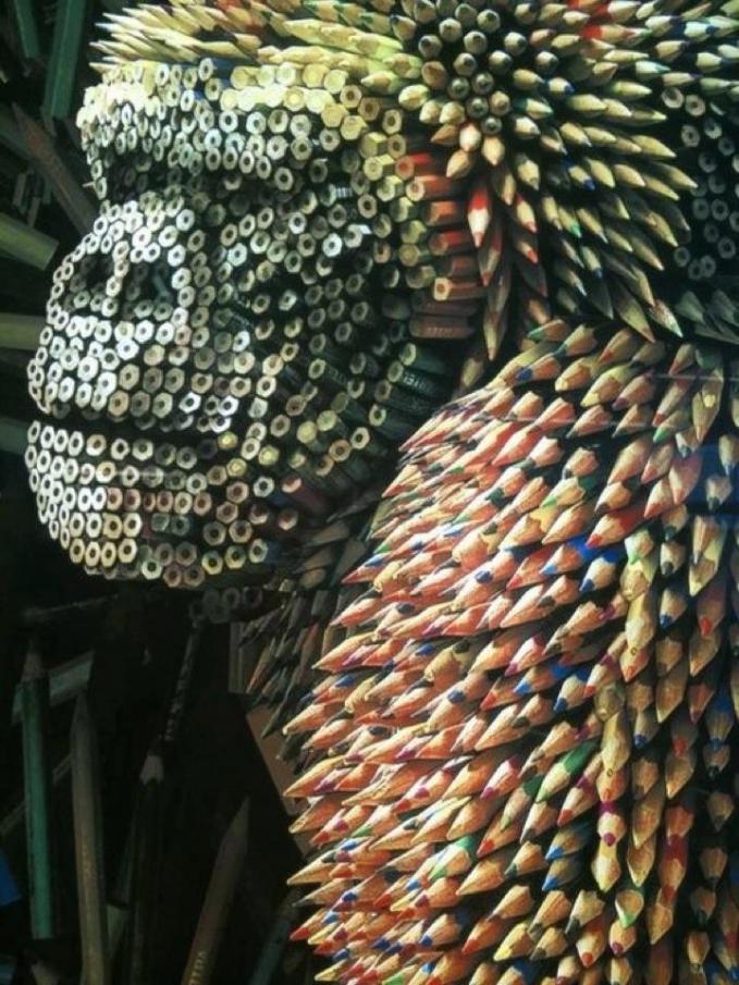 WOW.....Gorilla pencils