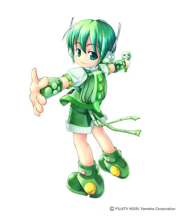 Ada yang tahu nama karakter ini gk? Ini salah satu karakter di Vocaloid loh.... Siapa namanya tebak....:D