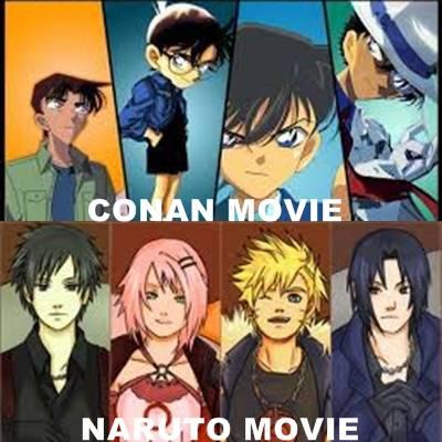 Conan or Naruto