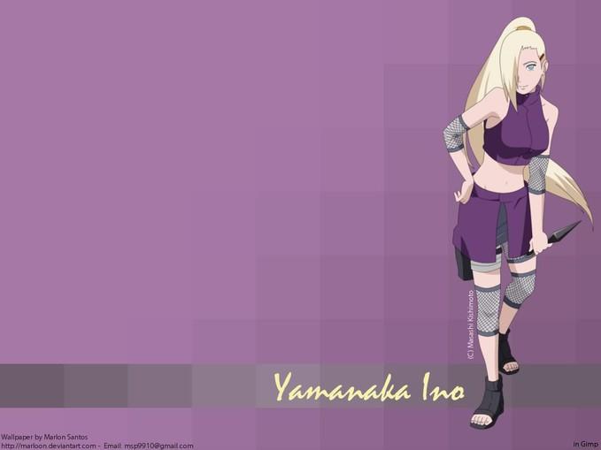 Yamanaka Ino Wallpaper.............