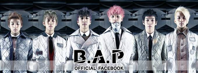 B.A.P boyband korea dengan agensi TS Entertaiment dengan anggota Youngguk (Leader) Himchan Daehyun YoungJae Jongup Zelo (magne)