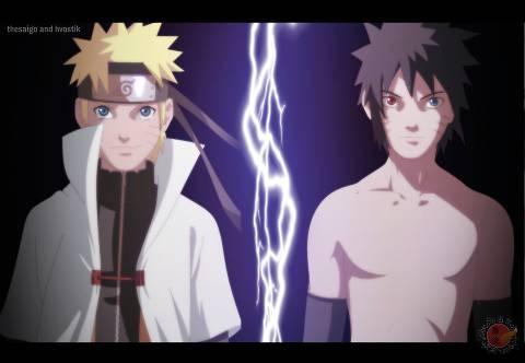 Naruto vs Menma siapa yg akan menang......