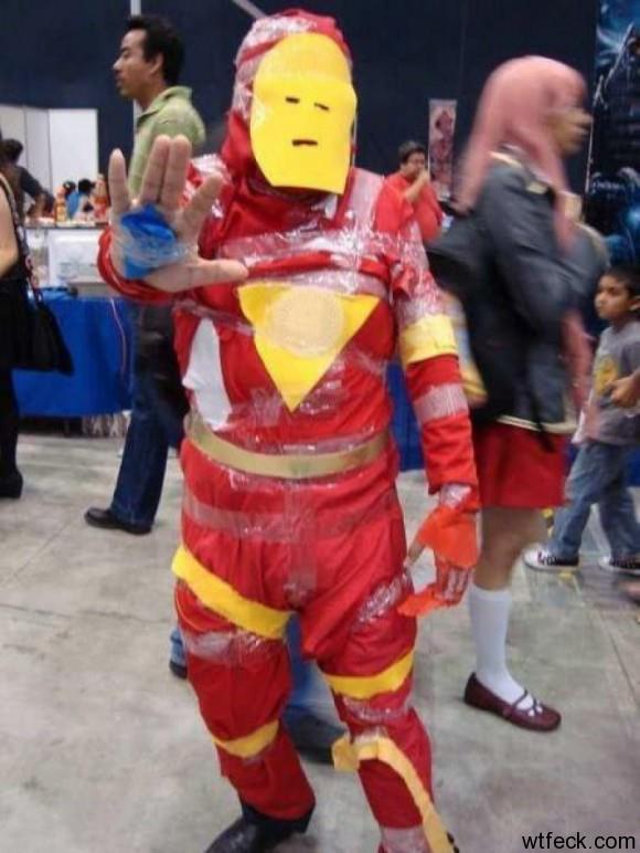 Iron Man gagal paham