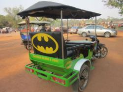 Ini dia becak Batman.. Fresh & Cool!
