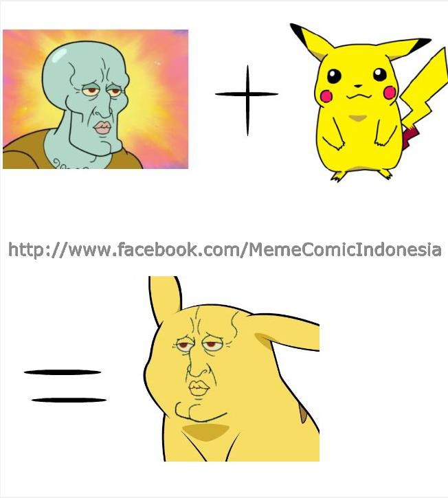 hahaha squidward + pokemon=squikemon janagn lupa wow ya :)