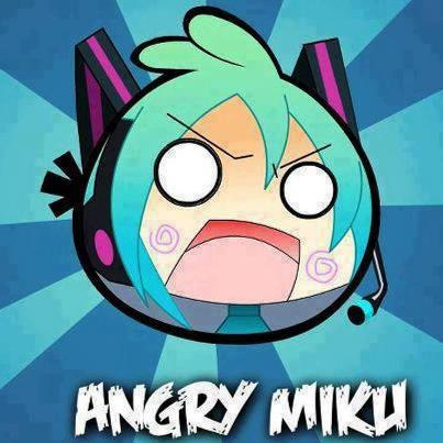 ada yang mau cobain games Angry Miku !! wkwkwkwwk !! :D (Just For Fun)