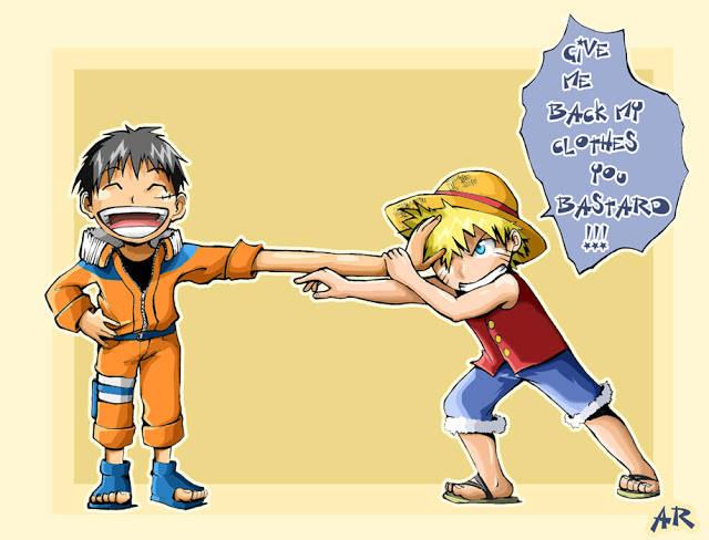 Naruto vs Luffy