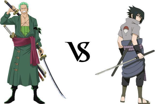 Roronoa Zorro vs Uchiha Sasuke